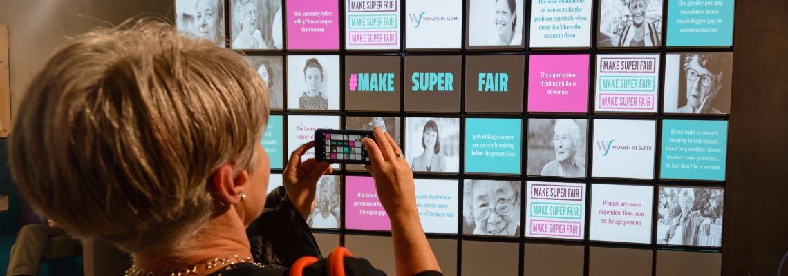 Make Super Fair Policy Campaign Launch
